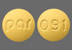 Yellow Round Tablet 091 And Par - Doxycycline 50mg Tablet