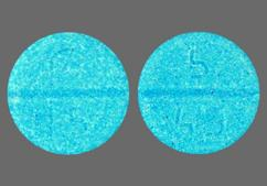 Blue Round Tablet Logo 1.5 And 5 49 - Pramipexole Dihydrochloride 1.5mg Tablet