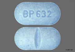 Blue Oval Tablet Bp 632 - Alprazolam 1mg Tablet