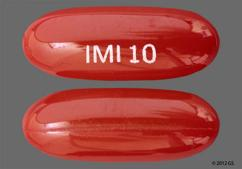 Red-Brown Imi 10 - Nifedipine 10mg Capsule