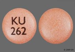 Pink Round Tablet Ku 262 - Nifedipine 90mg Extended-Release Tablet