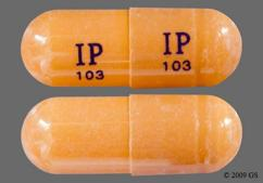 Brown Capsule Ip 103 Ip 103 - Gabapentin 400mg Capsule