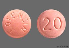 Pink Round Tablet 20 And Lotensin - Lotensin 20mg Tablet