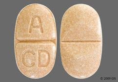 Pink Oval Tablet A Cd - Candesartan Cilexetil/Hydrochlorothiazide 32mg-25mg Tablet
