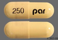 Yellow Capsule 250 Par - Olanzapine and Fluoxetine 6mg-25mg Capsule