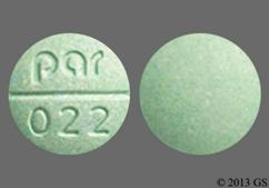Green Round Tablet Par 022 - Isosorbide Dinitrate 20mg Tablet