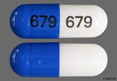 White And Blue Capsule 679 679 - Diltiazem Hydrochloride 360mg Extended-Release Capsule