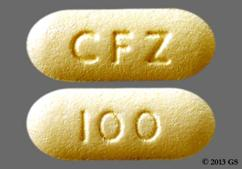 Yellow Oblong 100 And Cfz - Invokana 100mg Tablet