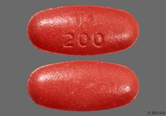 Red-Brown Oval Tablet T1 200 - Carbidopa/Levodopa/Entacapone 50mg-200mg-200mg Tablet