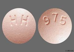 Pink Round Tablet Hh And 975 - Ropinirole Hydrochloride 2mg Tablet