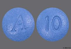Blue Round A And 10 - Belviq 10mg Tablet