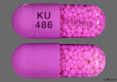 Purple Capsule Ku 486 200Mg - Verelan PM 200mg Extended-Release Capsule
