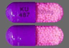 Purple Capsule Ku 487 300Mg - Verelan PM 300mg Extended-Release Capsule