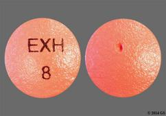 Red Round Tablet Exh 8 - Exalgo 8mg Extended-Release Tablet