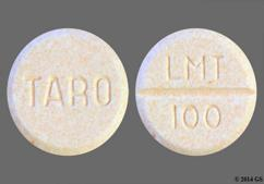Peach Round Lmt 100 And Taro - Lamotrigine 100mg Tablet