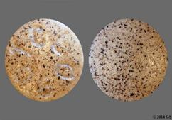 Brown Round Tablet Tcl 080 - Uni-Cenna Tablet