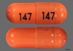 Orange Capsule 147 147 - Rivastigmine Tartrate 4.5mg Capsule