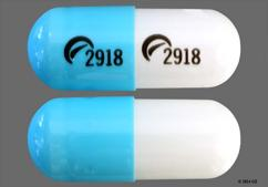 Blue And White Capsule Logo 2918 Logo 2918 - Diltiazem Hydrochloride 360mg Extended-Release Capsule