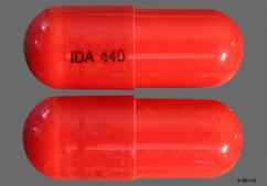 Red Ida 440 - Isometheptene/Dichloralphenazone/Acetaminophen 65mg-100mg-325mg Capsule