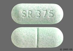Green Oblong Tablet Sr 375 - Symax SR 0.375mg Extended-Release Tablet