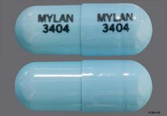 Blue Mylan 3404 Mylan 3404 - Tolterodine Tartrate 4mg Extended-Release Capsule