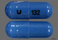 Blue U 132 - Zaleplon 10mg Capsule