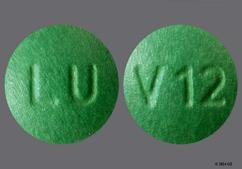 Green Round Tablet V12 And Lu - Imipramine Hydrochloride 25mg Tablet