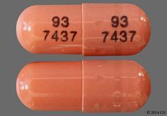 Pink Capsule 93 7437 93 7437 - Ramipril 5mg Capsule