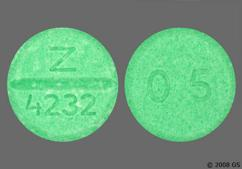 Green Round Tablet 0.5 And Z 4232 - Bumetanide 0.5mg Tablet