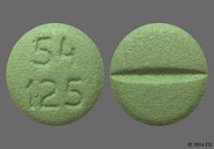 Green Round 54 125 - Losartan Potassium 50mg Tablet