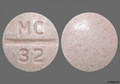 Pink Round Tablet Mc 32 - Candesartan Cilexetil 32mg Tablet