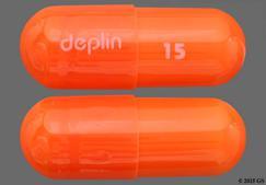 Orange Capsule Deplin 15 - Deplin 15mg Capsule