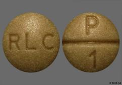 Beige Round Tablet P 1 And Rlc - WP Thyroid 65mg Tablet