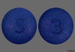 Blue Round S And 3 - Eszopiclone 3mg Tablet