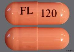 Pink Capsule Fl 120 - Fetzima 120mg Extended-Release Capsule