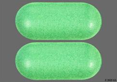 green oblong tablet - Oyster Shell Calcium with Vitamin D 500mg-200unitsTablet