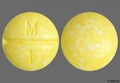 Yellow Round Tablet M 1 - Methotrexate Sodium 2.5mg Tablet
