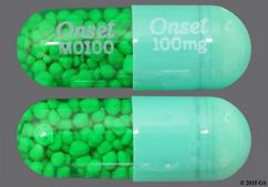 Green Capsule Onset M0100 Onset 100 Mg - Minocin 100mg Capsule