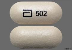 Yellow Oblong Tablet Kos, 502, And Logo 502 - Advicor 500mg-20mg Tablet