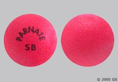 Red Round Tablet Parnate Sb - Tranylcypromine Sulfate 10mg Tablet