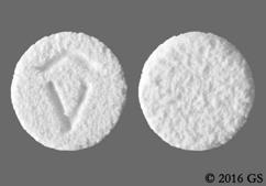 White Round Logo - Spritam 500mg Tablet
