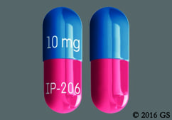 Blue And Pink Capsule 10 Mg Ip-206 - Vivlodex 10mg Capsule