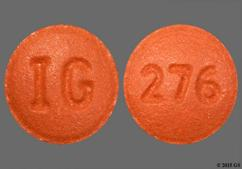 Beige Round Tablet 276 And Ig - Hydroxyzine Hydrochloride 25mg Tablet