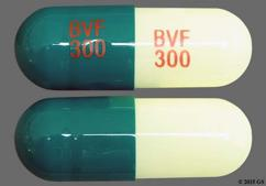 Green And White Capsule Bvf 300 Bvf 300 - Diltiazem Hydrochloride 300mg Extended-Release Capsule