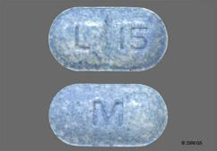 Blue-Green Oblong Tablet M And L 15 - Levothyroxine Sodium 137mcg Tablet