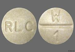 Beige Round Tablet W 1 And Rlc - Westhroid TH-1 65mg Tablet