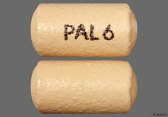 Beige Oblong Tablet Pal 6 And Pali 6 - Invega 6mg Extended-Release Tablet