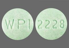 Green Round Tablet Wpi And 2228 - Metoclopramide Hydrochloride 5mg Tablet