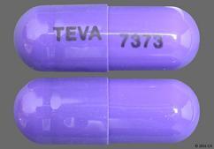 Purple Capsule Teva 7373 - Amlodipine Besylate/Benazepril Hydrochloride 10mg-20mg Capsule
