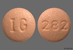 Beige Round Tablet 282 And Ig - Cyclobenzaprine Hydrochloride 5mg Tablet